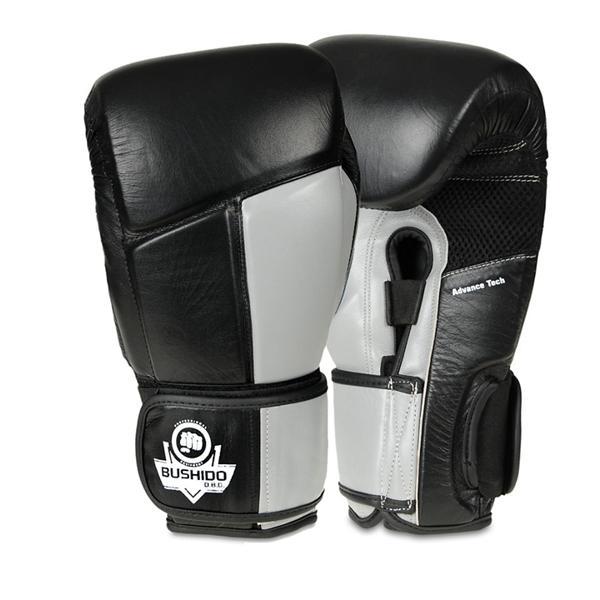 Boxerské rukavice DBX BUSHIDO ARB-431-ŠEDÉ 14 oz