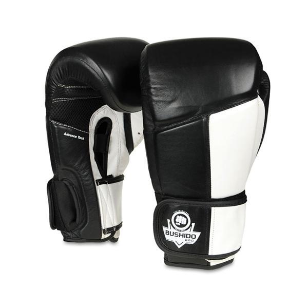 Boxerské rukavice DBX BUSHIDO ARB-431-BÍLÉ 14 oz