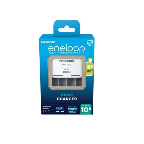PANASONIC Eneloop, BQ-CC61, USB Nabíjačka batérií