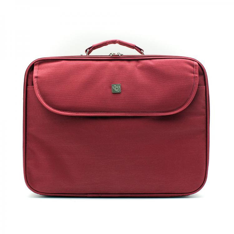 "SBOX Taška pre notebook 15,6"" NEW YORK Bordeaux"