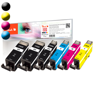 PEACH Canon PGI-525/CLI-526, PEA, Multi-Plus