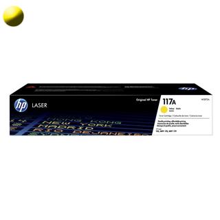 HP 117A Toner W2072A Yellow
