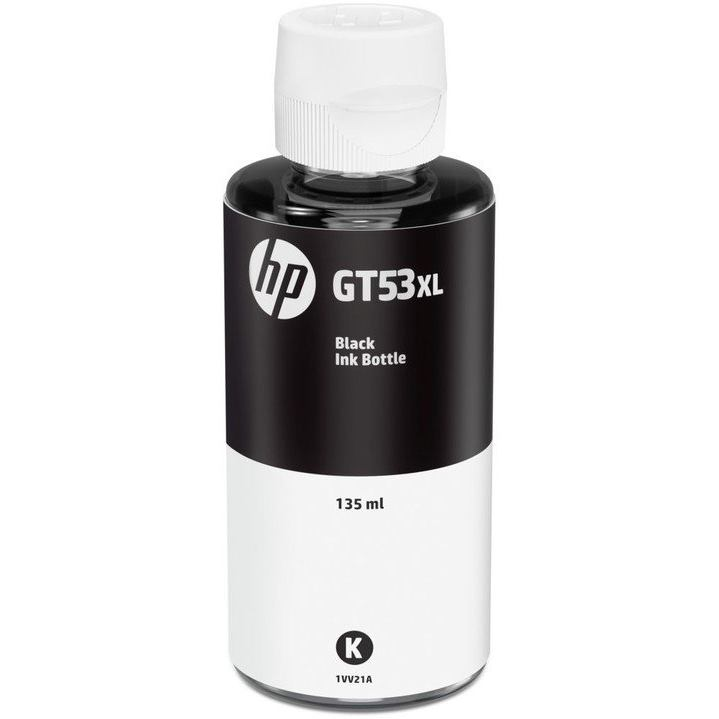 HP GT53XL Black Originál atrament 135ml