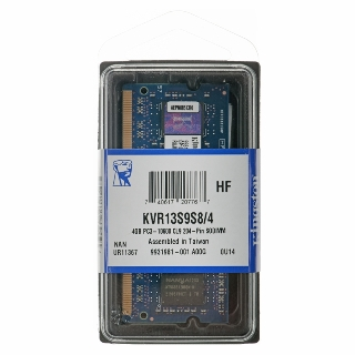 KINGSTON ValueRAM 8GB/DDR3 SO-DIMM/1600MHz/CL11/1.