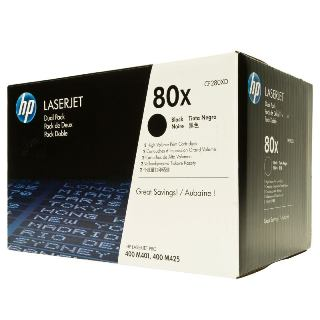 HP Toner CF280XD black