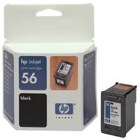 HP Cartridge C6656A  5550 BLACK 56