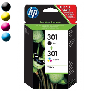 HP Catridge No.301 Combopack Black+Color CR340EE