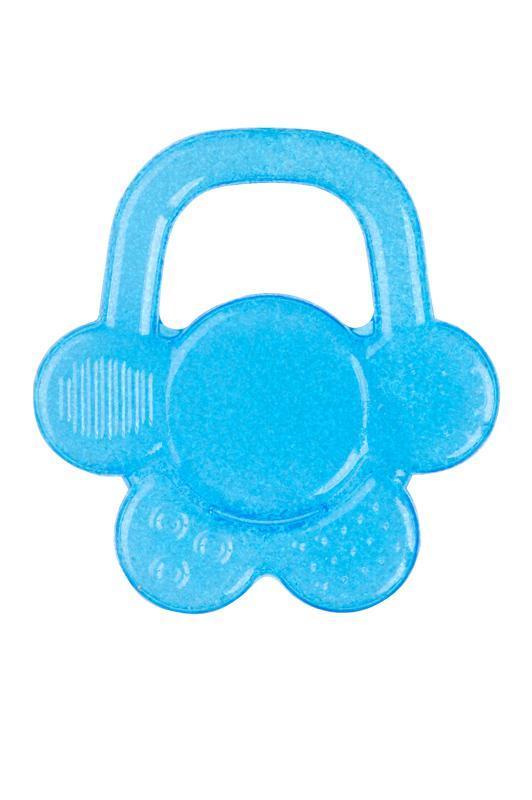 Hryzačka chladiaca gélová kvet - modrá