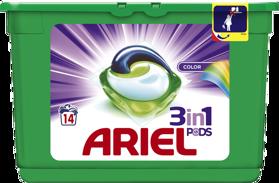 ARIEL Color All in 1 (14 ks) – gélové pracie kapsuly