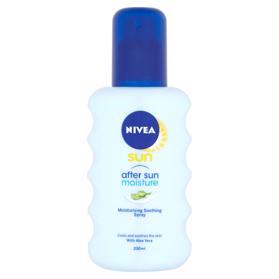 NIVEA Sun Hydratačný spray po opaľovanie, 200ml