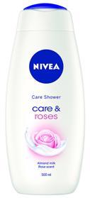 NIVEA Sprchový gél Care & Roses 500 ml