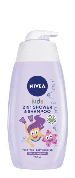 NIVEA BABY NIVEA Detský sprchový gél GIRL 500ml