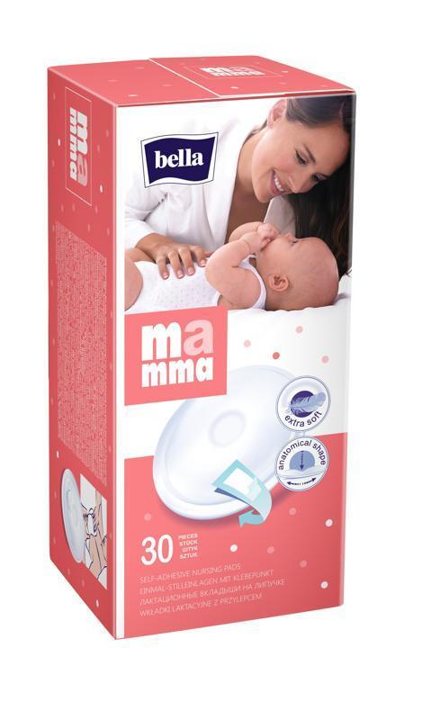 BELLA MAMMA Prsné vložky 30 ks