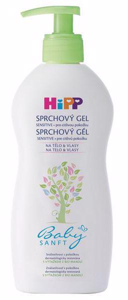 HiPP Šampón Vlasy&Telo Babysanft 200ml