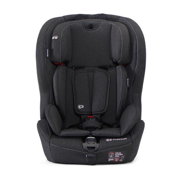 KINDERKRAFT Autosedačka Safety-Fix Isofix Black 9-36 kg