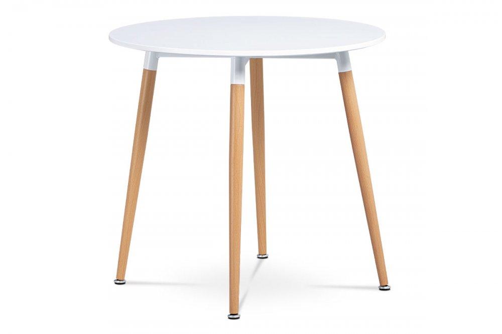 AUTRONIC DT-608 WT jedálenský stôl, biela matná MDF