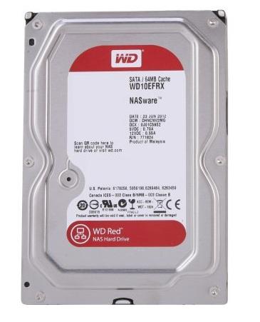 """WD Red 3,5"""" HDD 1,0TB IntelliPower RPM 64MB SATA 6Gb/s"""