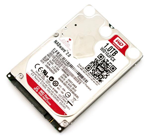 """WD Red™ 2,5"""" HDD 1,0TB IntelliPower RPM16MB SATA 6Gb/s"""