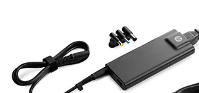 HP 90W Slim w/USB Adapter (interchangeable tips)