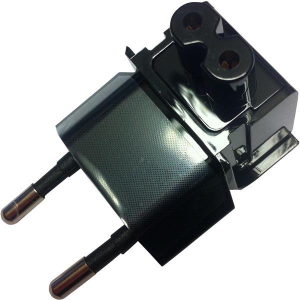 POWER ADAPTÉR EU PLUG čierny - redukcia pre EU elektr. sieť pre Asus adaptér