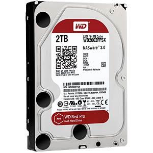 """WD Red PRO 3,5"""" HDD 2,0TB 7200RPM 64MB SATA 6Gb/s"""