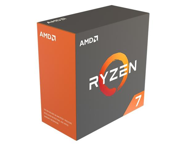 AMD Ryzen 7 1800X Processor BOX soc AM4 95W