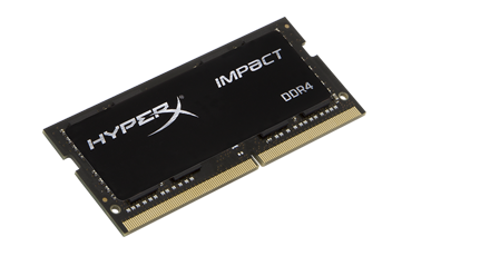 DDR 4    8 GB 3200MHz  SODIMM CL20  Kingston HyperX Impact Black Series