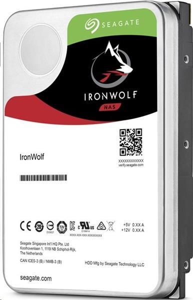 Seagate IronWolf NAS HDD 8TB 7200RPM 256MB SATA III 6Gbit/s