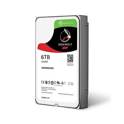 Seagate IronWolf NAS HDD 6TB 5900RPM 256MB SATA III 6Gbit/s