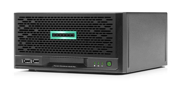 HP ProLiant MicroServer Gen10 Plus G5420 3.8GHz 2-core 8GB-U S100i 4LFF-NHP 180W External PS Server