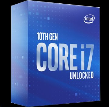 Intel® Core™i710700K processor 380GHz16MBLGA1200 BOX UHD Graphics 630 bez chladiča