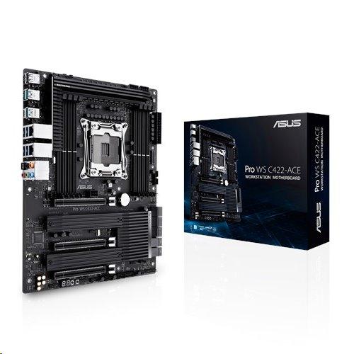 ASUS PRO WS C422-ACE soc.2066 C422 DDR4 ATX 3xPCIe RAID 2xGL USB3.0