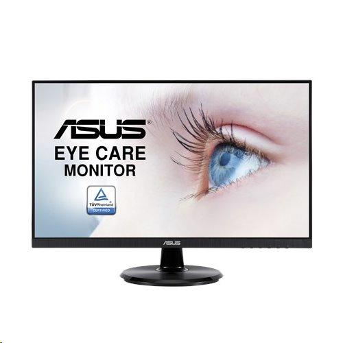 """ASUS VA24DQ 24""""W IPS 1920x1080 Full HD 100mil.:1 5ms 250cd HDMI DP D-Sub repro čierny"""