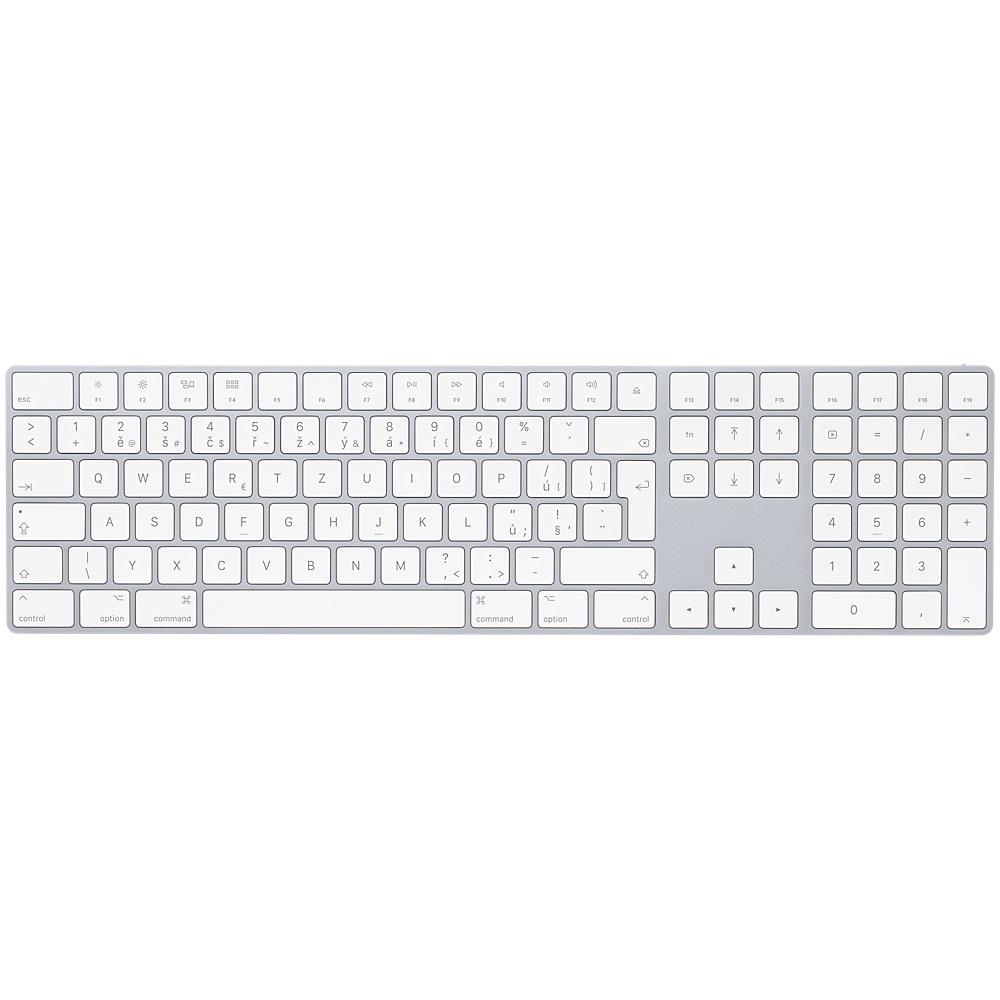 Magic Keyboard s numerickou klávesnicí - Czech