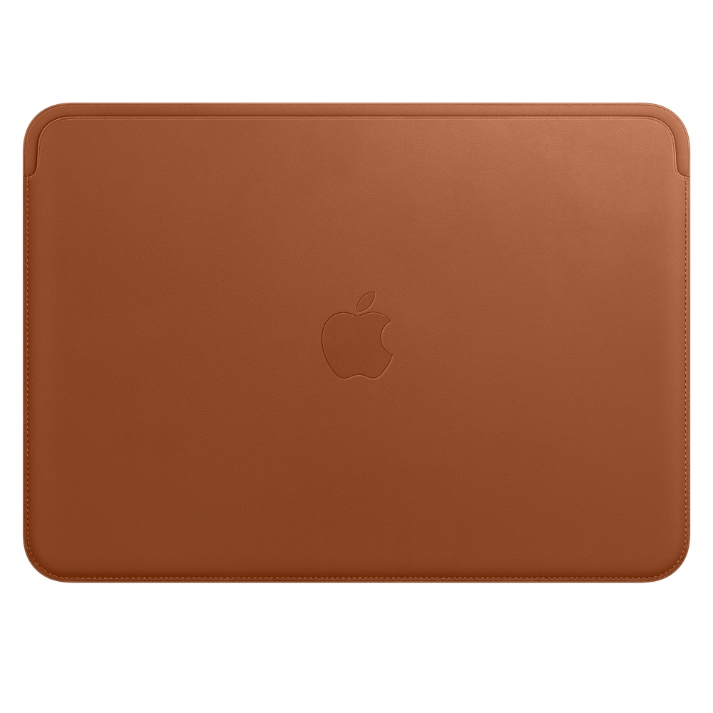 Leather Sleeve pro MacBook 12  Saddle Brown