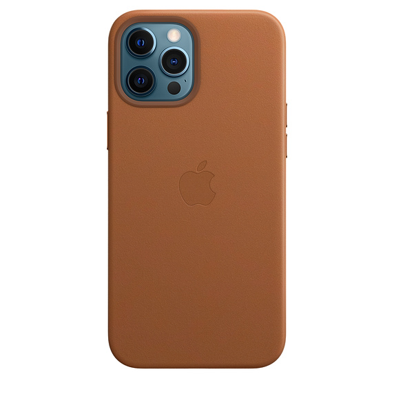 iPhone 12 Pro Max Leather Case wth MagSafe S.Brown
