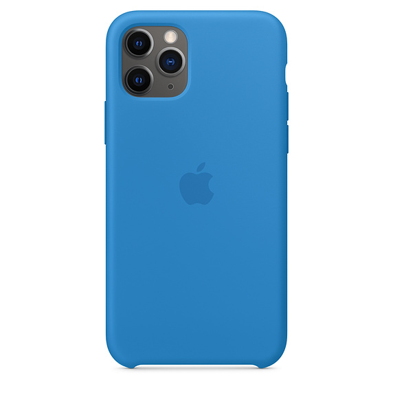 iPhone 11 Pro Silicone Case - Surf Blue