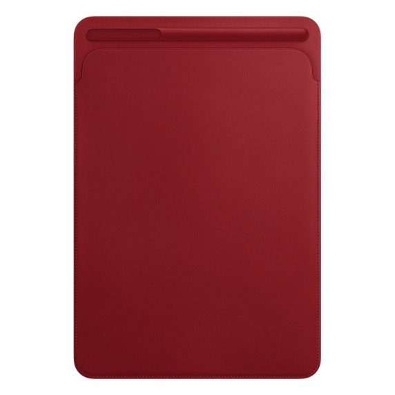 iPad Pro 105 Leather Sleeve  (RED)