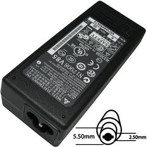 Napájecí adaptér 65W orig. 19V, 5.5x2.5 (bez sit. snury)