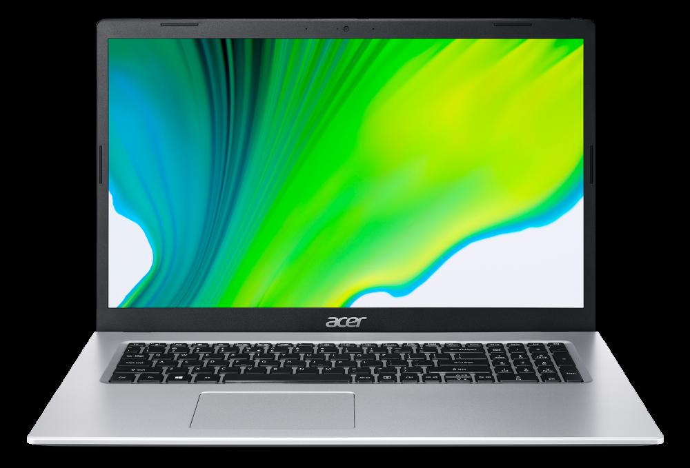 Acer Aspire 3 - 17,3''/N5100/8G/256SSD/W10 stříbrný