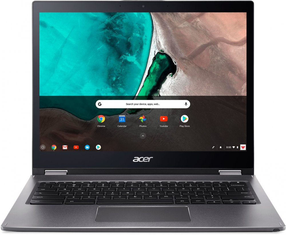 Acer Chromebook Spin 13  135Ti58250U8G128GB3:2Chrome šedý  stylus