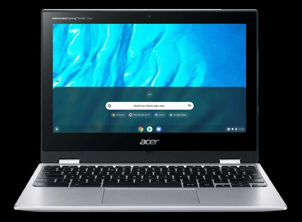 Acer Chromebook Spin 11 - 11,6T''/MT8183C/4G/64GB/Chrome stříbrný