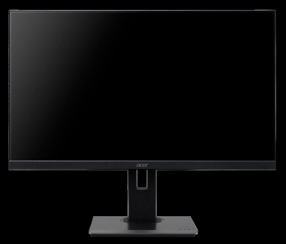 27'' LCD Acer B277 - IPS,FullHD,4ms,75Hz,250cd/m2, 100M:1,16:9,HDMI,DP,VGA,repro,pivot