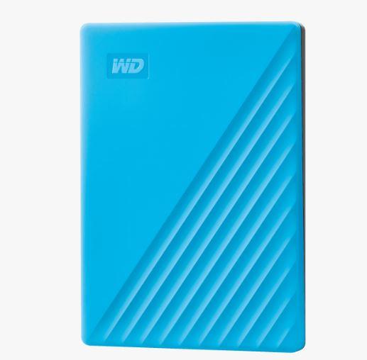 Ext. HDD 2,5'' WD My Passport 2TB USB 3.0. modrý