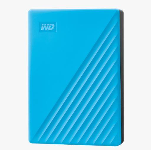 Ext. HDD 2,5'' WD My Passport 4TB USB 3.0. modrý
