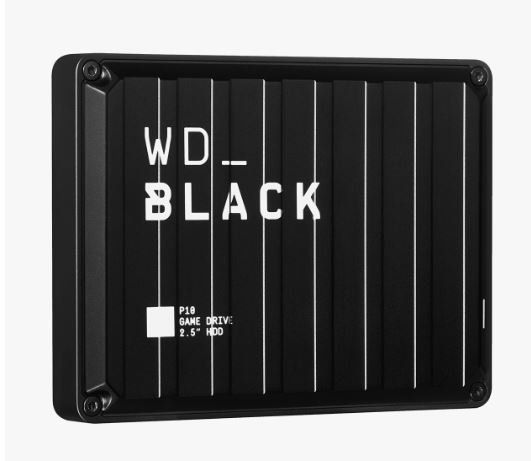 Ext. HDD 2,5'' WD_BLACK 5TB P10 Game Drive