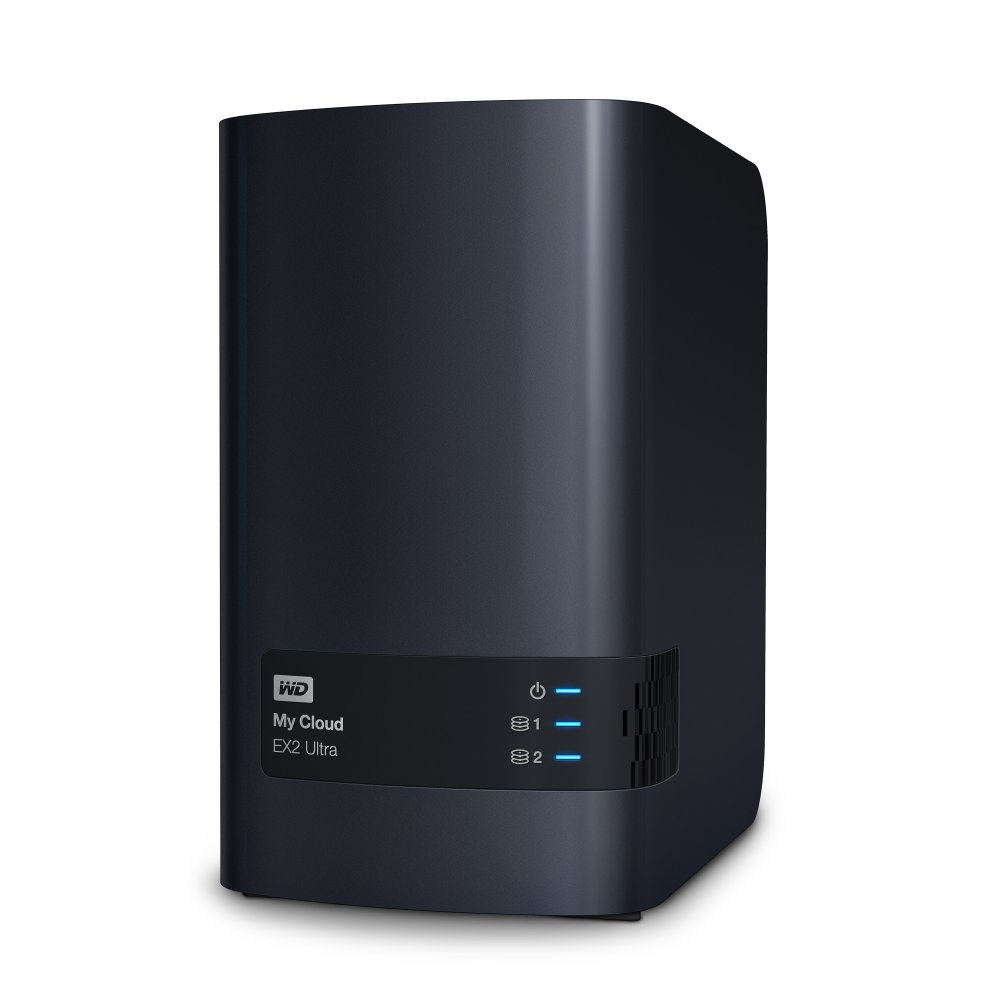 NAS 35 WD My Cloud EX2 Ultra 8TB NAS LAN