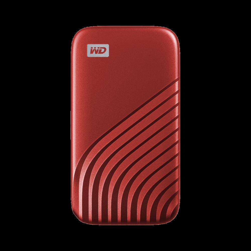 Ext. SSD WD My Passport SSD 500GB červená