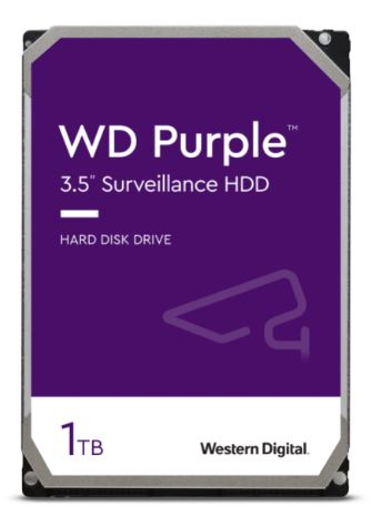 HDD 1TB WD10PURZ Purple 64MB SATAIII 5400rpm 3RZ