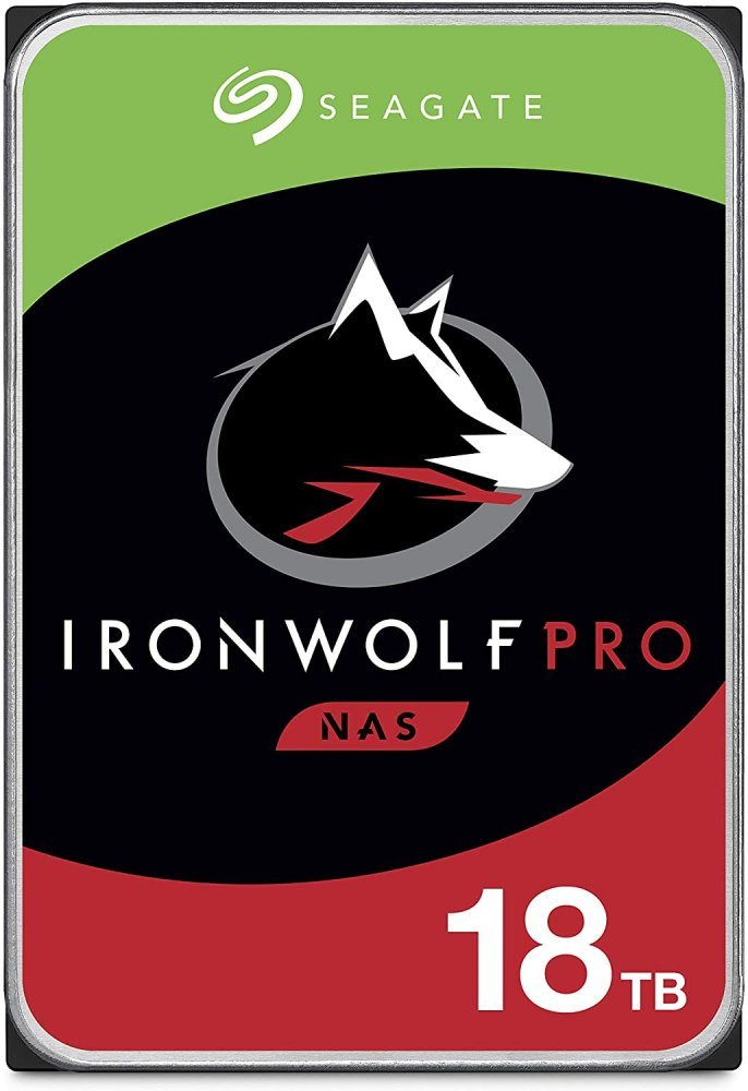 HDD 18TB Seagate IronWolf Pro 256MB SATAIII NAS 5R